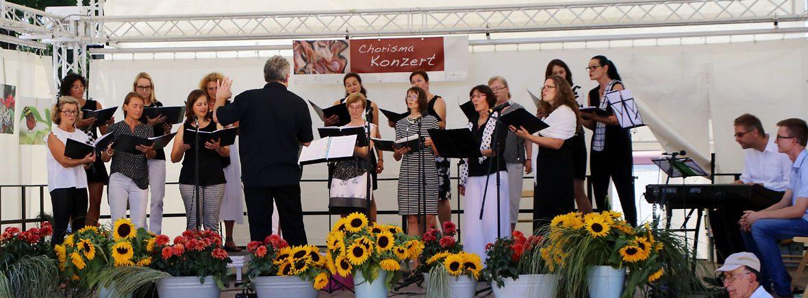 Chorisma Konzert im Rahmen der Gartenschau Pfaffenhofen 2017