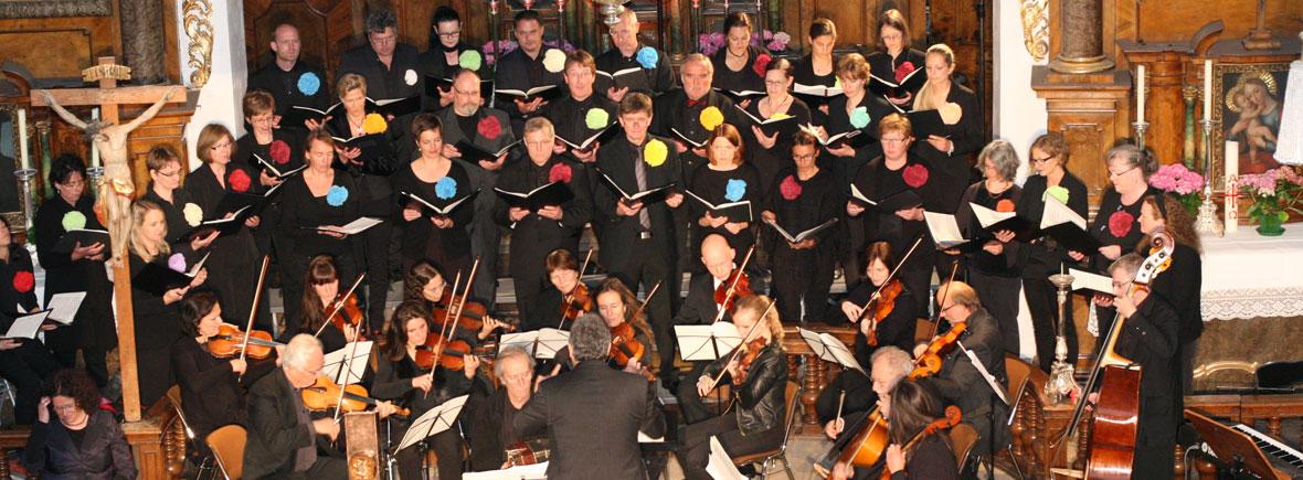 Großes Chorkonzert Spitalkirche mit dem Kammerorchester Dieter Sauer