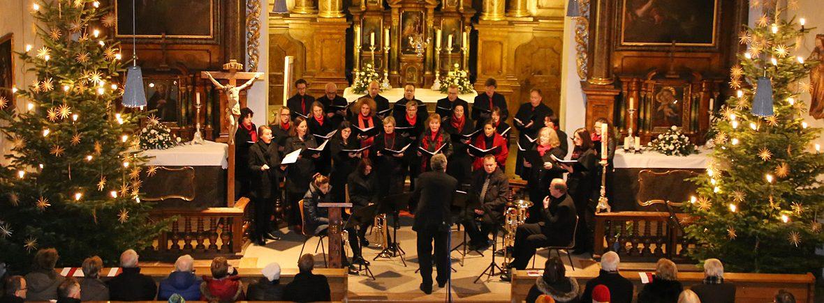 Der Pfaffenhofener Chor präsentiert in der Spitalkirche ein stimmungsvolles Weihnachtskonzert