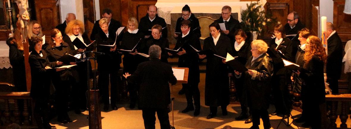 Chorisma beim Adventskonzert in der Spitalkirche Pfaffenhofen